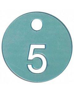Nr 5 brik - Perfekt til brug i prøverum