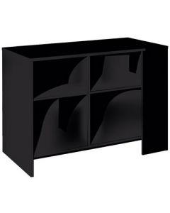 Butiksdisk sort i flot klassisk design - Kan bruges til ethvert formål