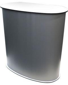 Messedisk af plastik i høj kvalitet - Messedisk hurtig klar til brug
