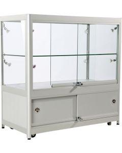 Flot præsentabel glasmontre til udstilling - Kvalitet til gode priser