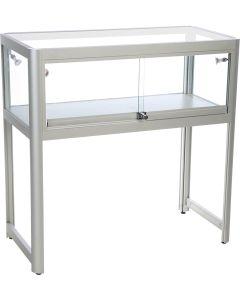 Glas vitrine / showcase - Velegnet som disk i butik og showroom