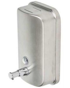 Super flot sæbe dispenser med trykknap og plads til 1000 ml - Køb online her