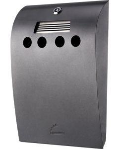 Super flot udendørs askebæger - Med lås og beholder for let tømning