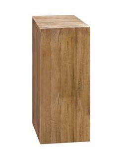 Udstillingspodie af træ til butik og handel - Køb online på globifix.com