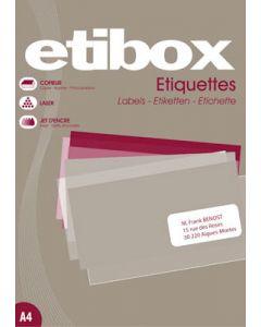 A5 labels / etiketter med klæbe - Velegnet til printer brug