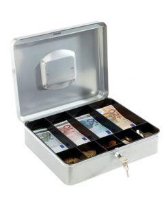Praktisk pengekasse med nøgle til opbevaring - Kan bruges til ethvert formål