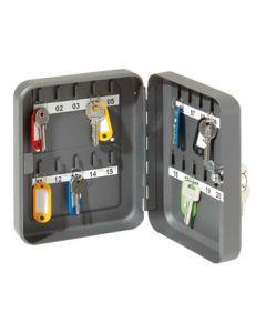 Nøgleskab med lås og plads til 20 stk. nøgler - Køb her