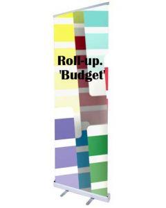Pris billig Roll-up af god kvalitet - Perfekt til messe og event brug