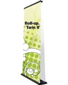 Flot og smart dobbeltsidet Roll-up banner - Køb Roll-ups i dag og få leveret dag til dag