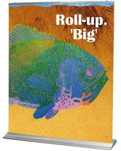 Kvalitets Rollups for stor banner visning - Køb online med dag til dag levering