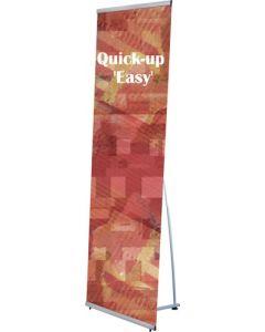 Flot banner i 100 X 200 cm til markedsføring på fod
