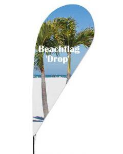Beachflag i mellem størrelse - Perfekt til udendørs skiltning diverse steder