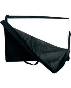 Solid bæretaske bestående af 2 stk. til udstillingsvæg