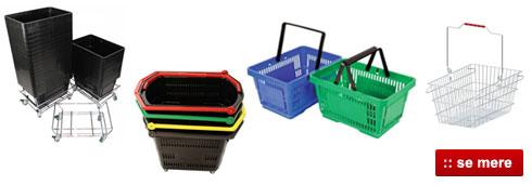 Online salg af Indkøbskurve til gode priser og hurtig levering