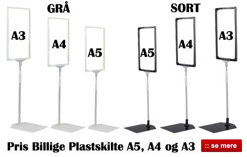 Billige Skilteholder og Plastskilte - Køb online her
