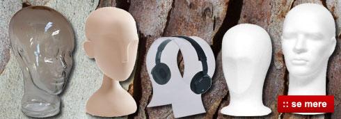 Køb mannequin hoved og flamingo hoved billigt online