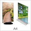 A4 akryl skilteholder - Til gode priser