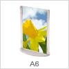 Billig skiltning med A6 akryl skilte