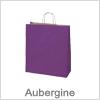 Flotte aubergine bæreposer i papir - Til gode priser