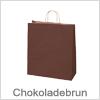 Flotte chokoladebrun papirsposer