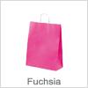 Fuchsia papirsposer med hank - Bestil online med hurtig levering