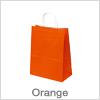 Smarte orange papirsposer - Fås i små mængder