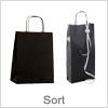 Billige sorte papirsposer - Kvalitetsvarer