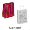 Papirsposer med mønster - Flot designet poser