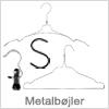 Smarte tøjbøjler i metal