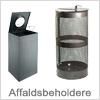 Smarte udendørs og indendørs affaldsbeholder og affaldsspande