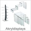 Akryl displays til salg og fremvisning - Køb online