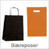 Bæreposer i plast og papir