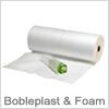 Pak med bobleplast og foam for beskyttelse