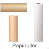 Papirruller til pakning af varer