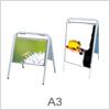 Skilte i A3 format - Gadeskilte / A skilte