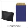 Ensfarvet gaveposer - nem indpakning