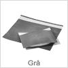Indpakningsposer i flot grå farve