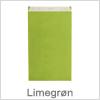 Pak nemt med gaveposer i limegrøn