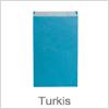 Flot turkis farvet gaveposer til indpakning