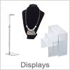 Displays - Akryl displays, smykkeholder, salgsdisplays etc