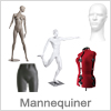 Mannequiner - mannequin hoved, justerbar gine etc.