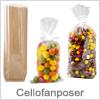 Cellofan poser i flere varianter