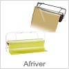 Papirafruller / papirafriver til indpakningspapir