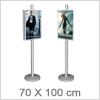 Smart plakatstander til 70x100cm - Til gode priser
