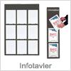 Infotavler til billige priser - Køb informationstavler her