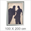 Store plakatrammer 100 X 200 cm - Perfekt til udendørs skiltning