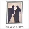 Snapramme 70 X 200 cm - Udendørs plakatrammer
