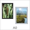 Store plakatrammer i A0 format med klik ramme