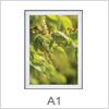 Rammer i A1 format - Kan bruges til ethvert skilte formål
