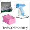 Få mærket dine tekstilprodukter